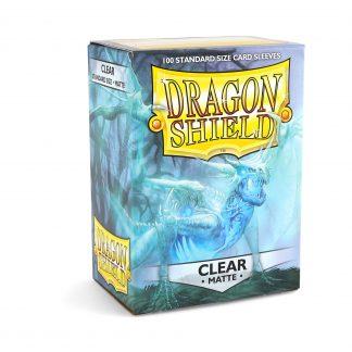 Dragon Shield Matte Clear Box