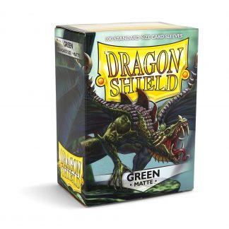 Dragon Shield Matte Green Box
