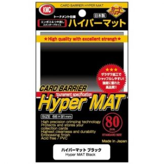 KMC Sleeves Hyper Mat Black