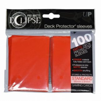 Ultra-PRO Eclipse sleeves apple red