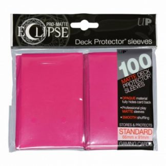 Ultra-PRO Eclipse sleeves hot pink
