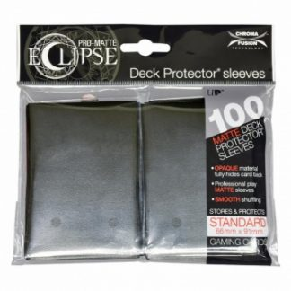 Ultra-PRO Eclipse sleeves jet black