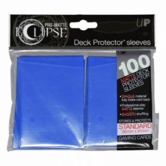 Ultra-PRO Eclipse sleeves pacific blue