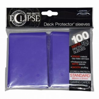 Ultra-PRO Eclipse sleeves royal purple
